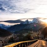 Berchtesgaden Sonnenuntergang Watzmann