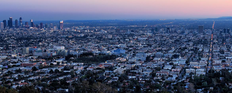 L.A. Skyline Sunset
