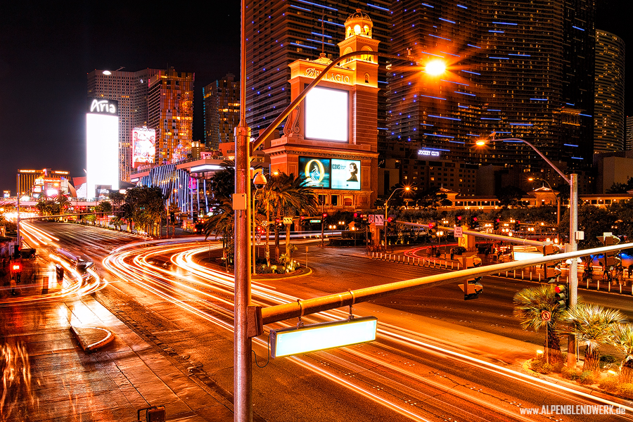 Las Vegas Strip Langzeitbelichtung