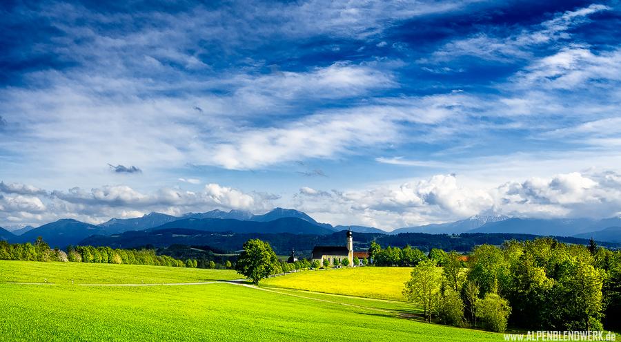 Wallfahrtskirche Wilparting , Bayern, Oberbayern