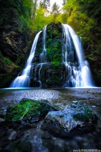 Wasserfall in Josefsthal am Schliersee