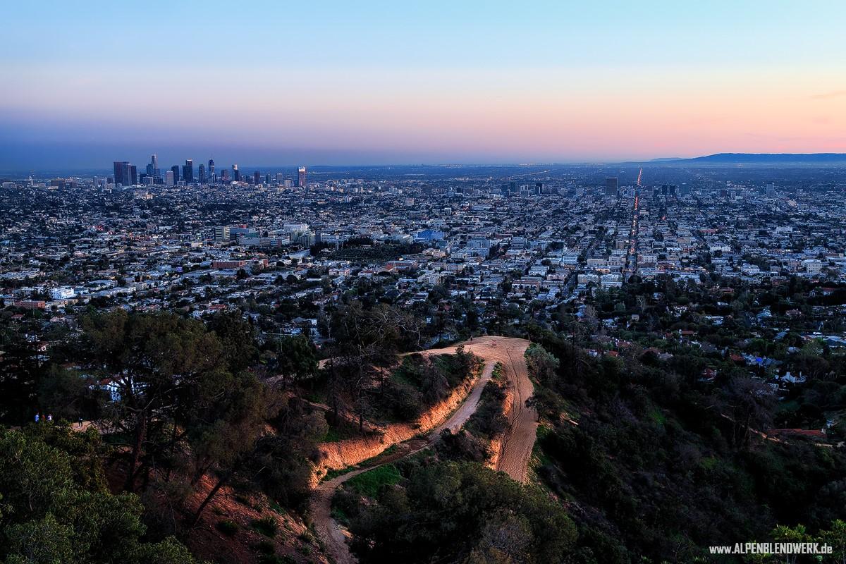 Los Angeles Skyline von Philipp Nagel