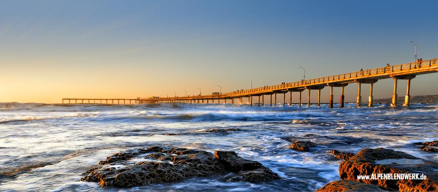 Ocean Beach Pier and Stones