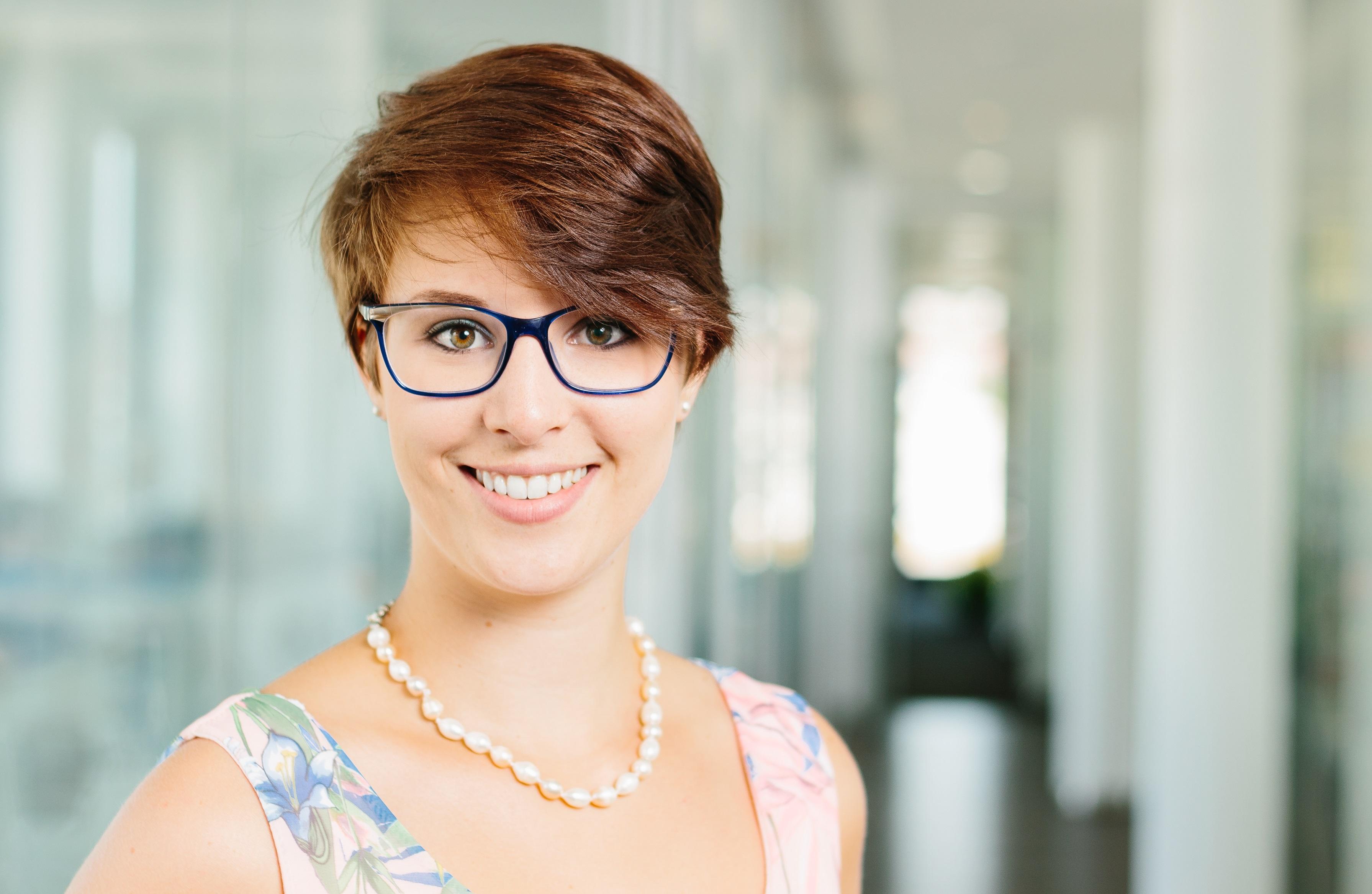 Frau Porträt Beruf Business