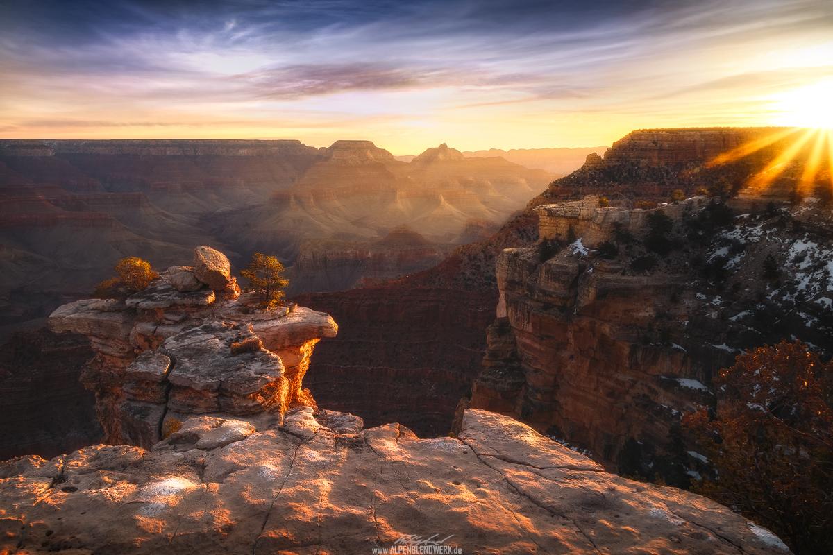 Grand Canyon bei Sonnenaufgang