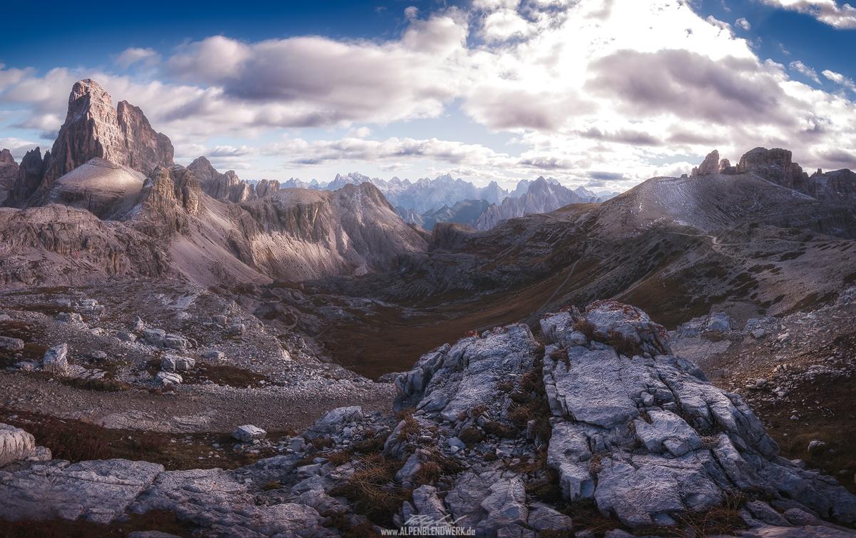 Panorama dolomites Italy