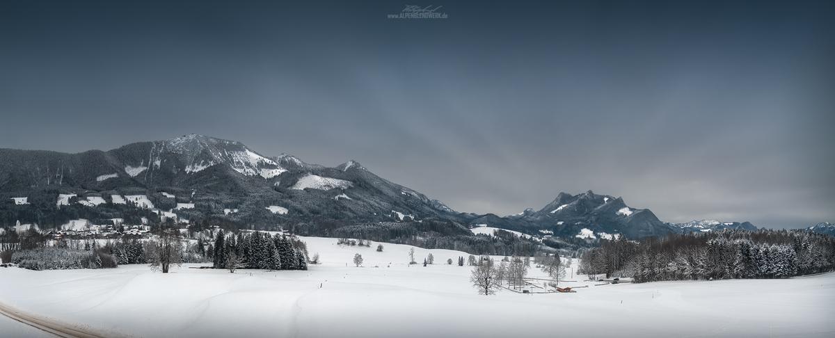 Winter am Samerberg