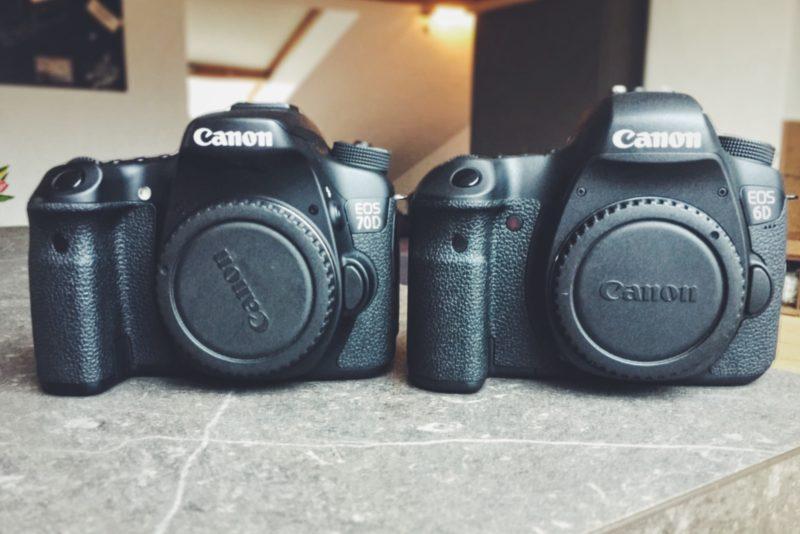 Canon EOS 6D vs. Canon EOS 70D