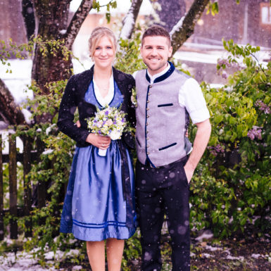 Ein Brautpaar - Ihr Hochzeitsfotograf Rosenheim
