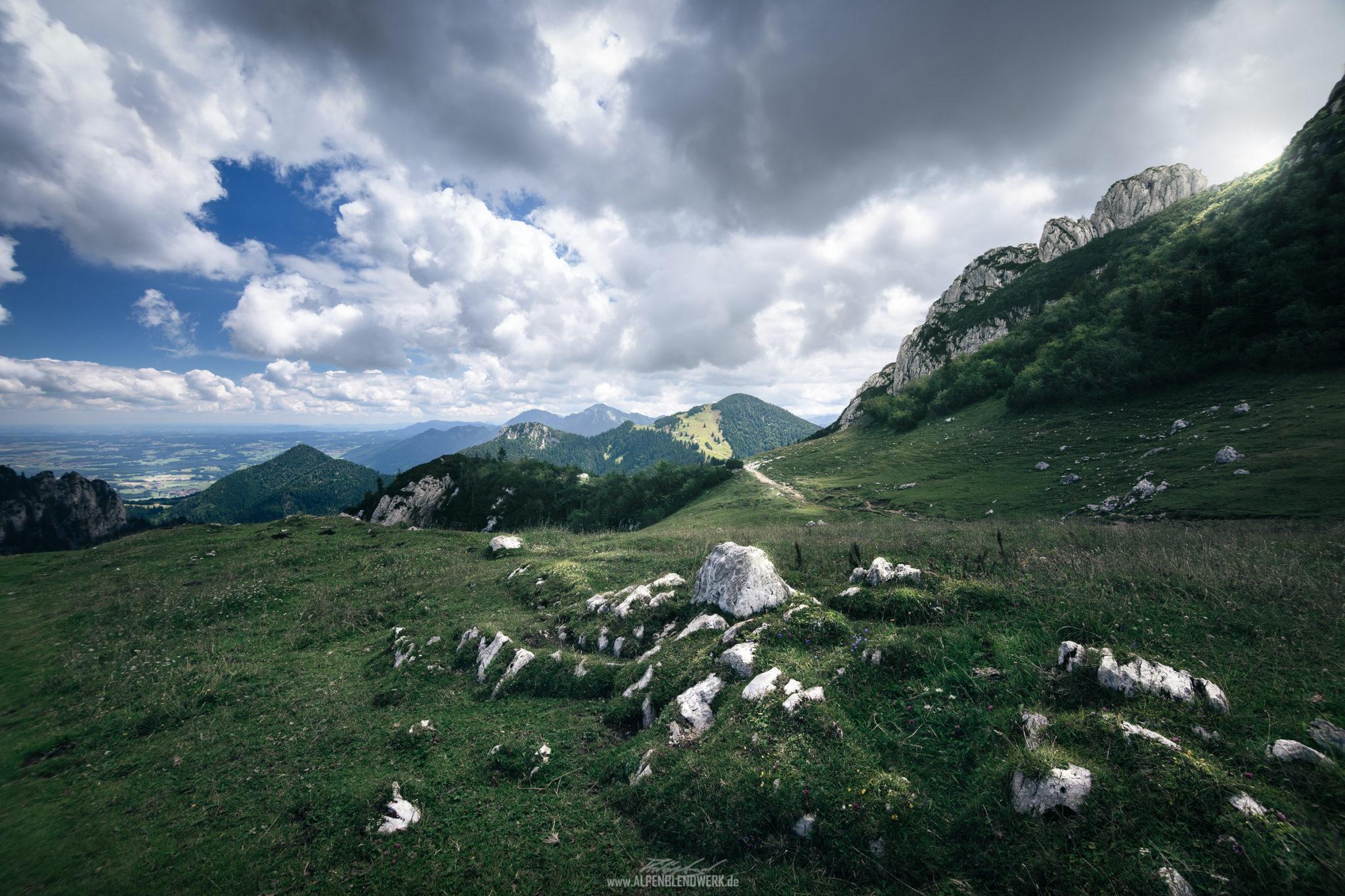 Kampenwand Landschafts Oberbayern