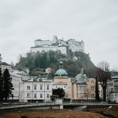 Salzburg Altstadt Burg