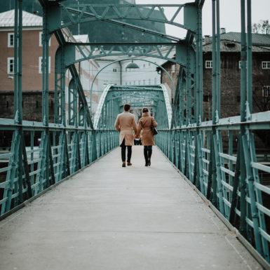 Salzburg Altstadt Brücke