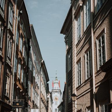 Salzburg Altstadt Gasse