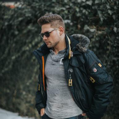 Porträt Mann Fashion