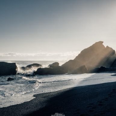 South Iceland Black Beach