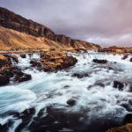 Island, Wasserfall