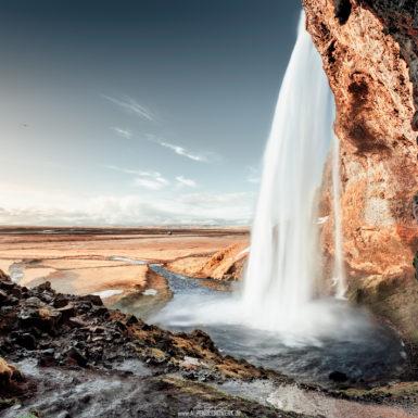 Island, Seljalandsfoss