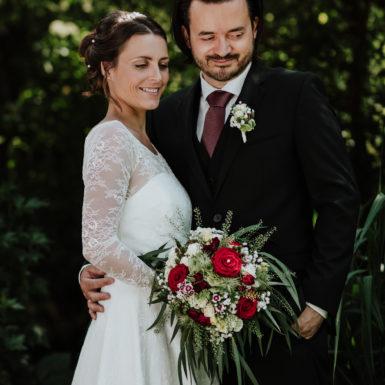 Hochzeit Reit im Winkl Paar