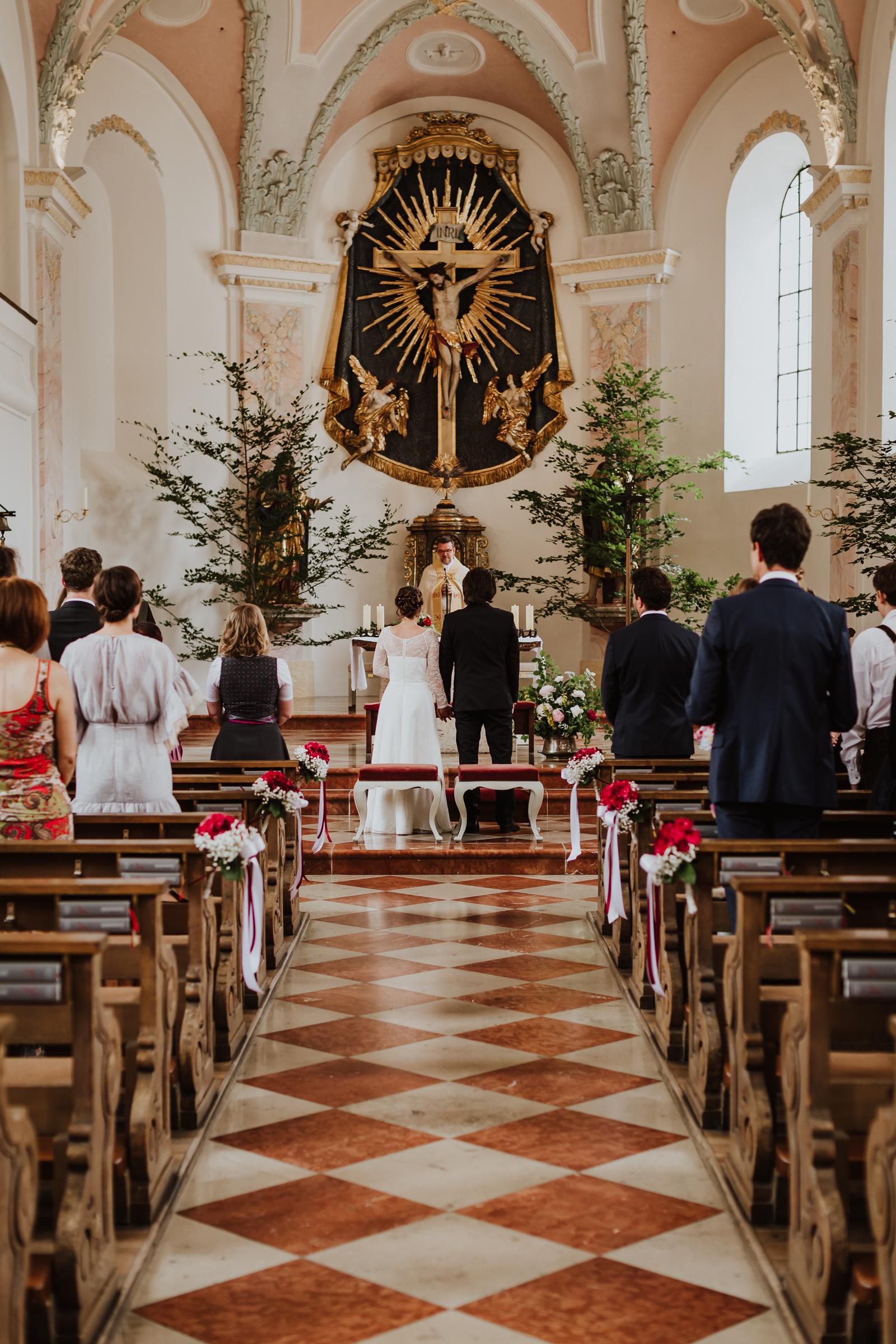 Hochzeit Reit im Winkl Kirche