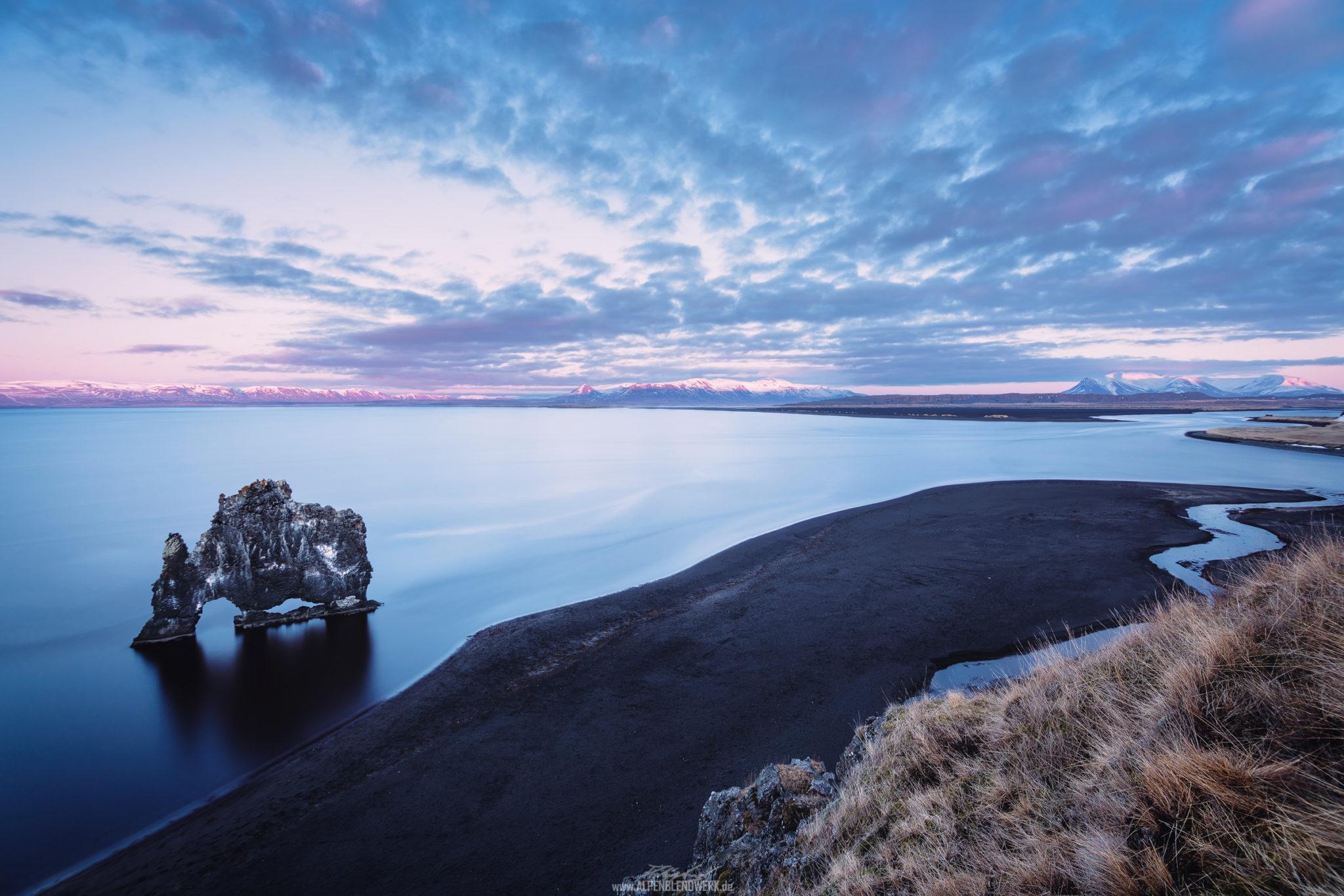 Hvitserkur Iceland Panorama
